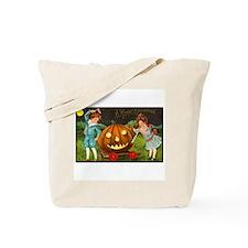 Victorian Halloween Children Tote Bag
