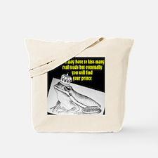 Kiss many toads Tote Bag
