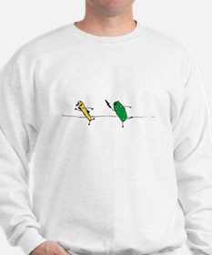 Angry Pickle and French Fry Sweatshirt
