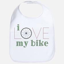 I Love My Bike Bib