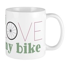 I Love My Bike Mug