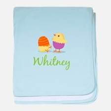 Easter Chick Whitney baby blanket
