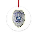 Corpus Christi Police Ornament (Round)
