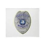 Corpus Christi Police Throw Blanket