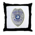 Corpus Christi Police Throw Pillow