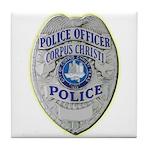 Corpus Christi Police Tile Coaster