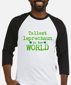 Tallest leprechaun in the World Baseball Jersey