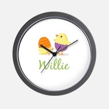 Easter Chick Willie Wall Clock