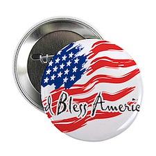 "American Flag inscribed ""God Bless America"" 2.25"""