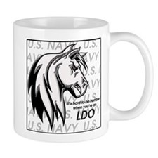 It's hard to be humble when you're an LDO Small Mug