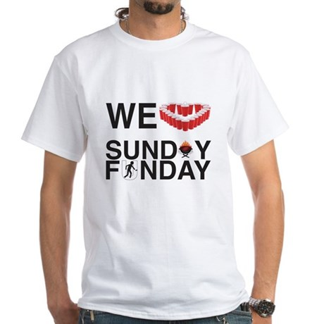 We Love Sunday Funday T-Shirt
