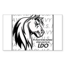 it's hard to be humble when you're an LDO Decal