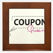 Coupon Queen Framed Tile