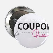 "Coupon Queen 2.25"" Button"