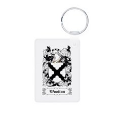 Wootton Aluminum Photo Keychain