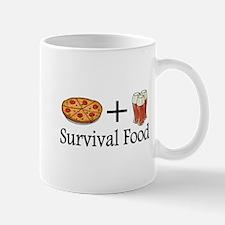 Survival Food. Pizza plus Beer Mug