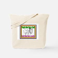 Black American Native American Tote Bag