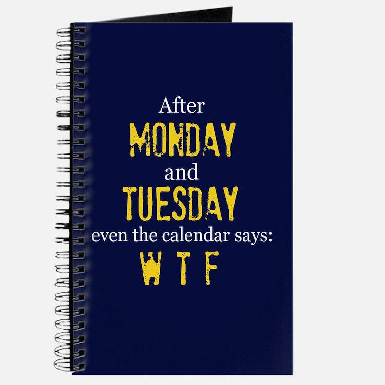 Monday Tuesday Journal