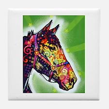 Magic horse Tile Coaster