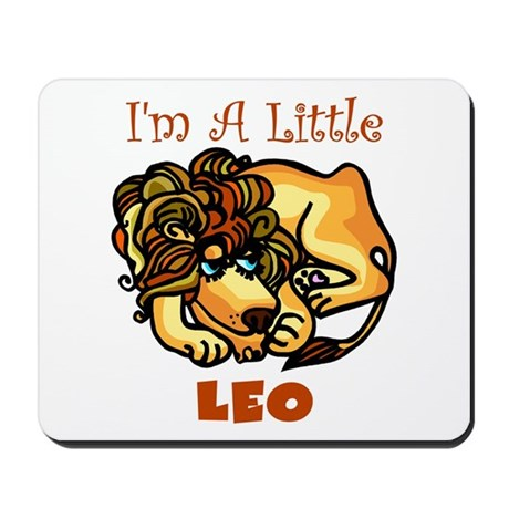 I'm A Little Leo Mousepad
