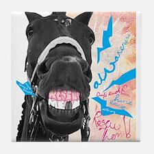 Horse Rescue Tile Coaster