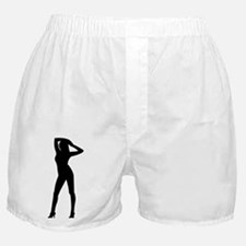 Woman_Silhouette.png Boxer Shorts
