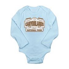 Canyonlands National Park Long Sleeve Infant Bodys