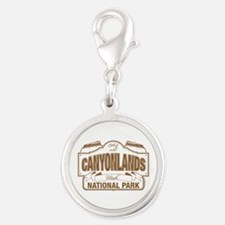 Canyonlands National Park Silver Round Charm