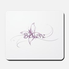 Believe Venture Butterfly Mousepad