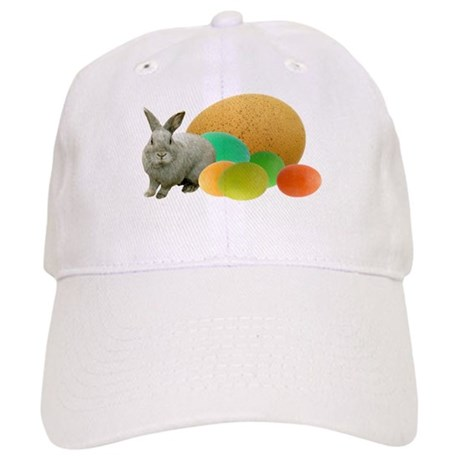 Bunny Colored Eggs Baseball Cap