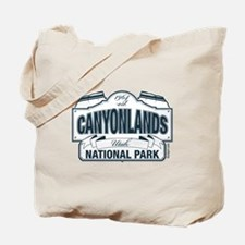 Canyonlands Blue Sign Tote Bag