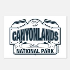 Canyonlands Blue Sign Postcards (Package of 8)