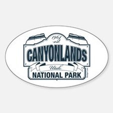 Canyonlands Blue Sign Decal