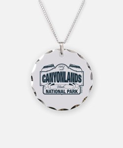 Canyonlands Blue Sign Necklace