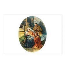 Victorian Nativity - Religious Christmas Postcards