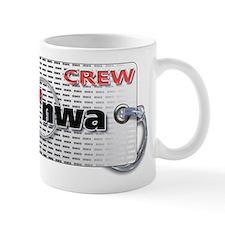 Northwest Airlines Crew Tag Mug