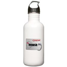 Northwest Airlines Crew Tag Water Bottle