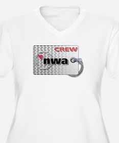Northwest Airlines Crew Tag Plus Size T-Shirt