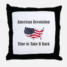 American Revolution Throw Pillow