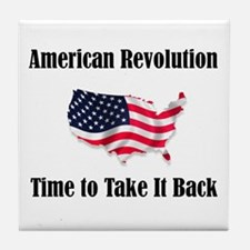 American Revolution Tile Coaster