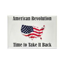American Revolution Rectangle Magnet