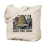Bee Canvas Totes