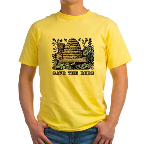 Save The Bees Yellow T Shirt Save The Bees T Shirt