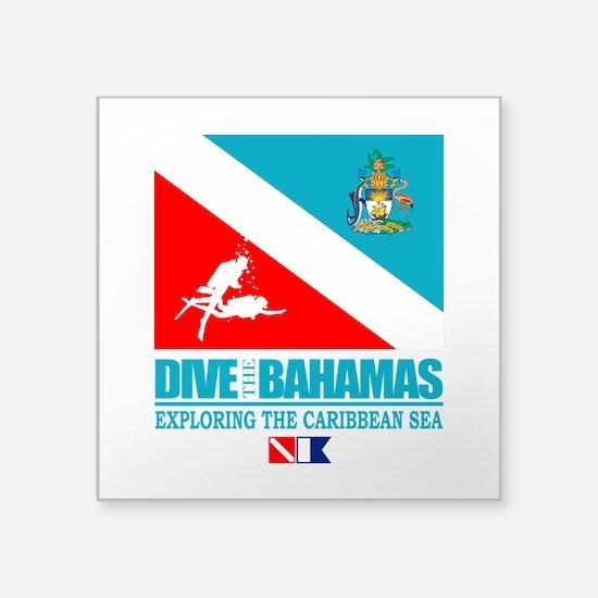 Dive Bahamas Sticker
