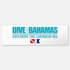 Dive Bahamas Bumper Bumper Bumper Sticker