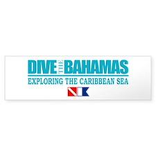 Dive Bahamas Bumper Car Sticker