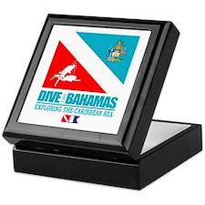 Dive Bahamas Keepsake Box