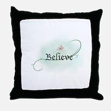 To grow, believe! Throw Pillow