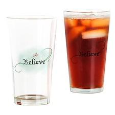 To grow, believe! Drinking Glass