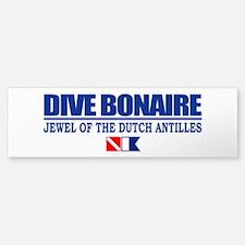Dive Bonaire Bumper Bumper Bumper Sticker
